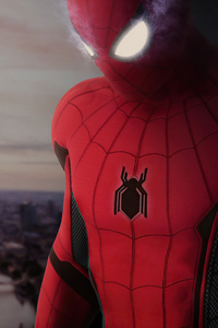 720x1280 Spider Man Far From Home Glowing Eyes