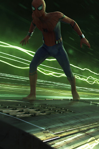 Spider Man Far From Home Light Speed Train