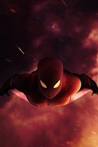 320x568 Spider Man Farfrom Home 4k
