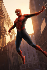 Spider Man First Suit 4k
