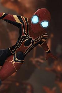 Spider Man Glowing Eyes 4k