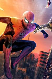 320x480 Spider Man Home Run