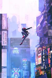 Spider Man In Chinatown