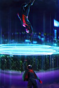 1440x2560 Spider Man Into The Spider Verse 4k