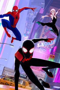 2160x3840 Spider Man Into The Spider Verse Chinese Poster 2018