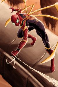 Spider Man Iron Tech Suit 4k