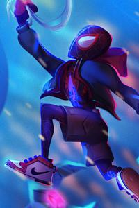 Spider Man Little Miles 4k