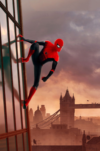 Spider Man London 4k