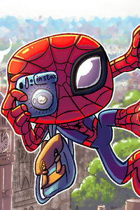 Spider Man Make A Shot