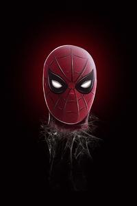 Spider Man Mask Minimalism 5k