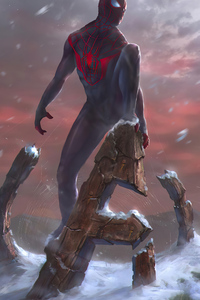 Spider Man Miles 2020 4k Artwork