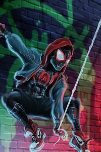 720x1280 Spider Man Miles 2020 Artwork 4k