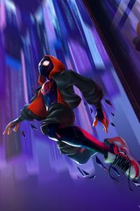 1125x2436 Spider Man Miles 2020