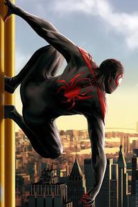 Spider Man Miles 4k 2020
