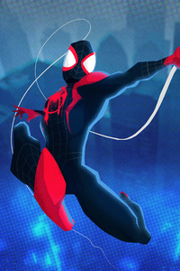 Spider Man Miles 4k Art