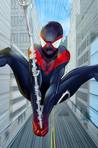 Spider Man Miles Coming Artwork