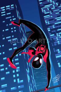 320x480 Spider Man Miles Hand Gesture 4k