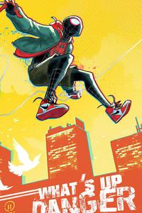 Spider Man Miles Jumping
