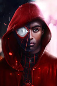 320x568 Spider Man Miles Morales 4k