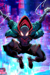 2160x3840 Spider Man Miles Morales Artwork 4k