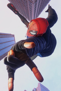 Spider Man Miles Morales In City 4k