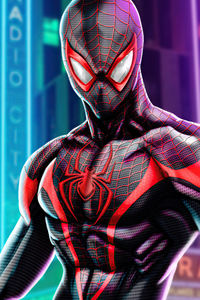 Spider Man Miles Morales In PS5 4k
