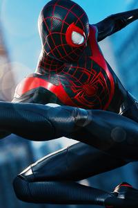 240x400 Spider Man Miles Morales Marvel 2020
