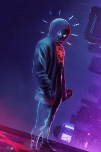 540x960 Spider Man Miles Morales Noise