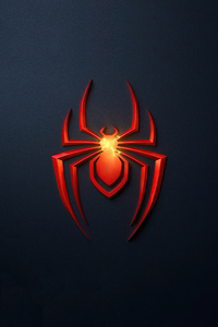 Spider Man Miles Morales Ps5 Game Logo 4k