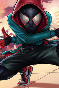 Spider Man Miles Shooter
