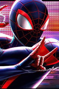 750x1334 Spider Man Miles Web Shooter