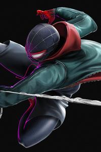 240x400 Spider Man Miles4k