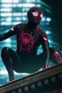 360x640 Spider Man Neon