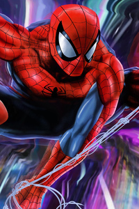 1080x1920 Spider Man New Colorful 4k