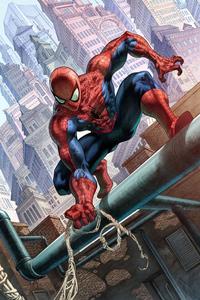 Spider Man New York Buliding