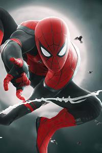 Spider Man Night 4k