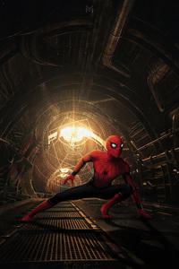 480x800 Spider Man No Way Home Artwork 4k
