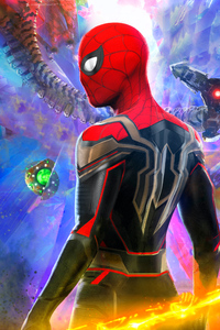 1440x2960 Spider Man No Way Home Empire Poster 4k