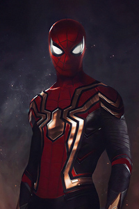 1280x2120 Spider Man No Way Home Integrated Suit