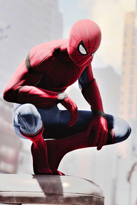 640x960 Spider Man No Way Home Star Suit