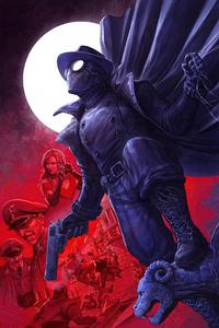 480x854 Spider Man Noir Cover 4k