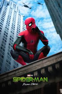 Spider Man Phone Home 2021 5k