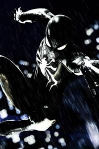 Spider Man PS4 Black Suit