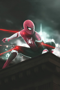 Spider Man Red Suit 4k 2020