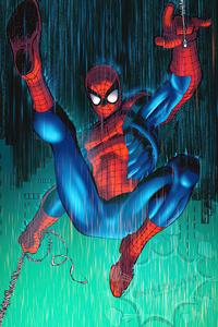 Spider Man Red Suit 4k