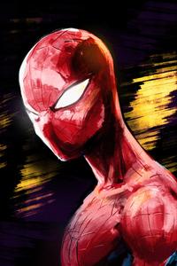 Spider Man Sketch Art 4k