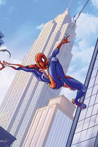 2160x3840 Spider Man Swing 2020 4k