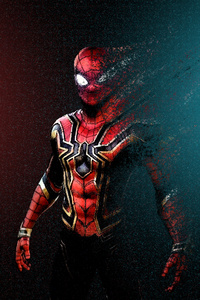 Spider Man Turns Into Dust