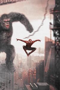 Spider Man V Godzilla