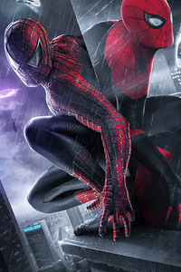2160x3840 Spider Man V Miles Spider